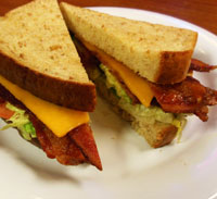 A Smoked Bacon Celebration, our delicious BLT&C!!