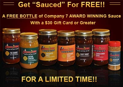 See the details in our article on how to receive your free bottle of sauce or rub.