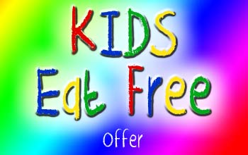 Wednesday's Kid under 12 eat free!!