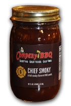 Company 7 BBQ's Chief Smoky places #1 for Best Sauce for Beef.