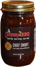 Company 7 BBQ Sauce - Chief Smoky