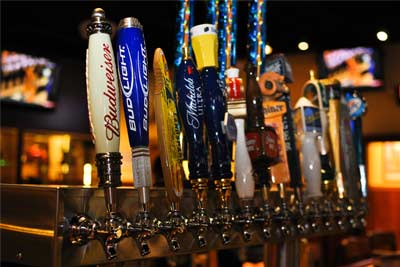 Drain the Beer Lines Special on Mondays