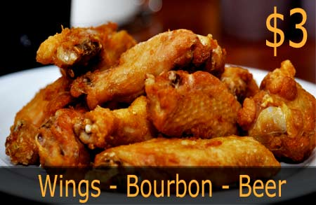 $3 for 5 Wings on Tuesdays!!