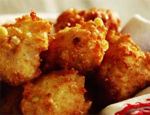 Sunday Special - Two delicious & FREE Corn Fritters