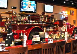Company 7 BBQ's Fire Engine Bar