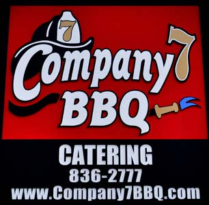 Catering at Company 7 BBQ