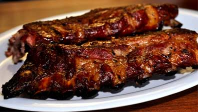 Hickory Smoked Baby Back Ribs