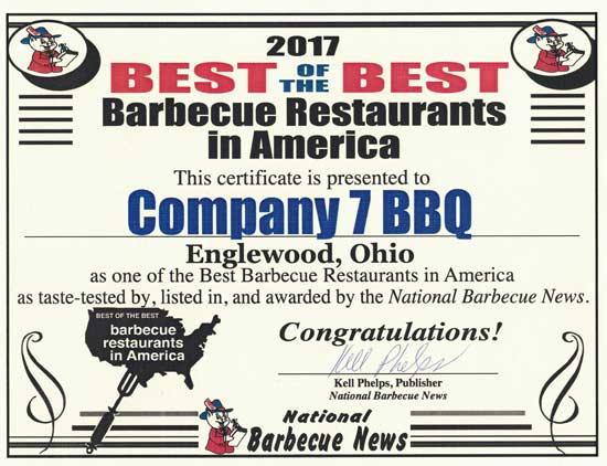 Best of the Best Barbecue Restaurants in America - 2017